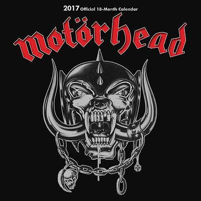Motorhead 2017 Official Square Calendar by Danilo