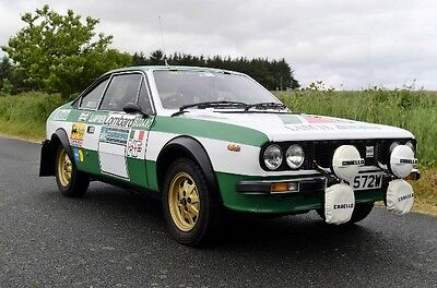 Lancia Beta Coupe 2.0 ltr Classic Rally Car