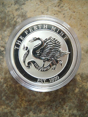 The Perth Mint 99.9 Grade 1/2 Oz Proof Medal In Capsule With Box & Certificate