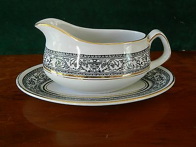 Wood & Sons 'saracen'  Gravy Boat And Under Plate