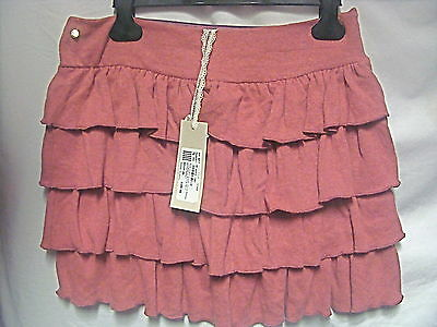 Bnwt Pink Soft Knit Layered Skirt By Miss Grant Age 16 Tag Price £105