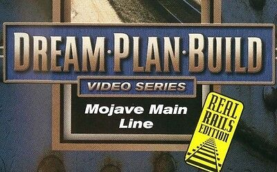 Mohave Main Line DVD 73147D Dream Plan Build Real Rails Edition BNSF Route 66 sc