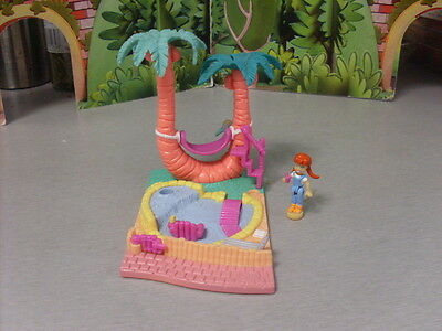 Polly Pocket With Figure  #1
