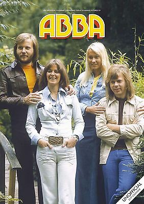 Abba 2017 A3 Calendar by Red Star
