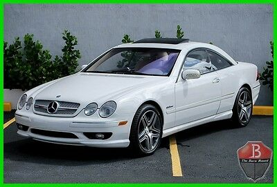 2002 Mercedes-Benz CL-Class CL500 Factory AMG PKG BOOKS TOOLS WINDOW STICKER 2002 CL500  5L V8 24V Automatic RWD Coupe Premium Bose Mercedes Benz AMG FLORIDA