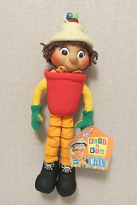 Bill (Bill & Ben) doll by Hasbro BBC Collectable Doll Soft toy