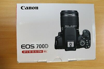 Canon EOS 700D Digital SLR Camera with 18-55 IS STM Lens Brand New