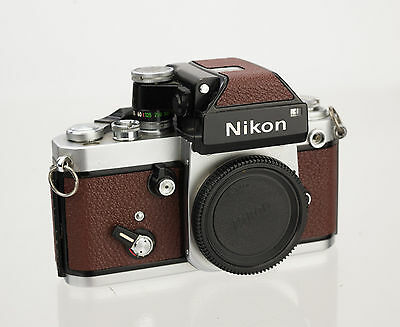 Nikon F2 With DP-1 Viewfinder and New Leather Cover