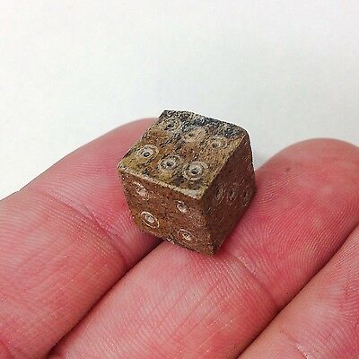 ANCIENT Roman Period Bone Dice 100-300 AD VF Quality