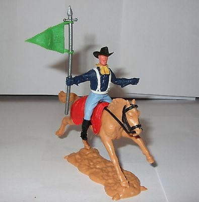 Timpo 7th Cavalry/Union Mounted Green Flag Bearer