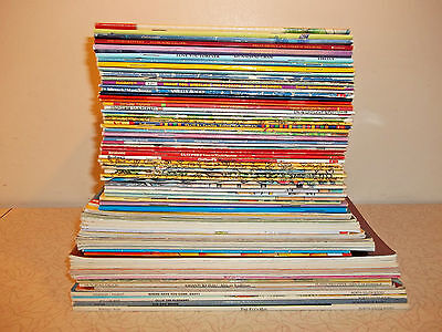 Lot 100 CHILDREN Picture Books Waterford Institute Tradtional Tales  Critter