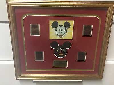 ORIGINAL 35mm FILMCEL MICKEY MOUSE PINCEL LIMITED EDITION 190/500