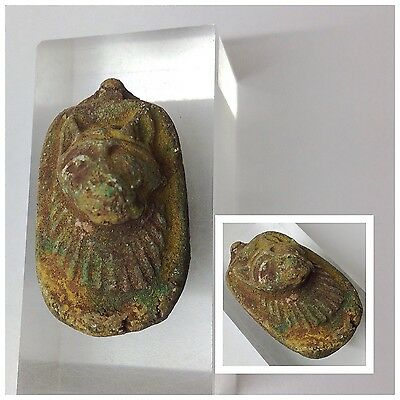 Beautiful Ancient Egyptian Sphinx Amulet 300BC