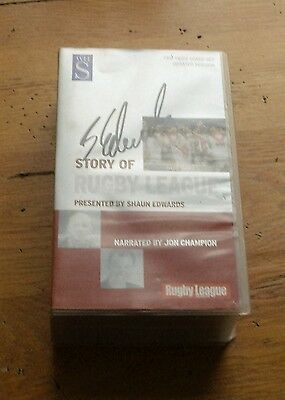 """""""Shaun Edwards' Story of Rugby League"""", two videos"""