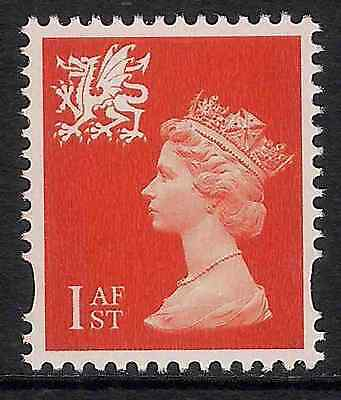 Wales 2000 sg W97 1st 2 bands perf 14 booklet stamp MNH