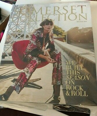Somerset Collection 2016 Holiday Book Magazine Troy Michigan Mall NEW SEALED