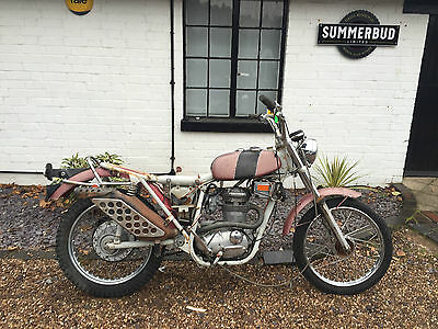 BSA B25SS Gold Star 250  Barn Find Restoration Project Spares Repairs 1970