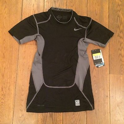 Tee Shirt Running Nike Pro Combat Hypercool Compression Gris Taille S Neuf