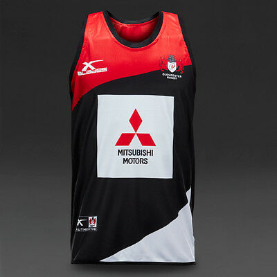 Bnwt X Blades Gloucester 2016/17 Players Rugby Singlet/vest - L Personalisation