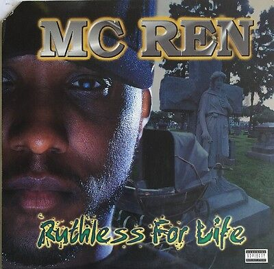 Mc Ren Ruthless For Life Lp Ruthless Us 1998 N.w.a. Solo Nr Mint