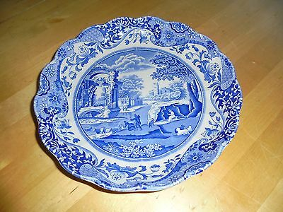 Spode Blue Italian fluted edge serving dish no2 dish