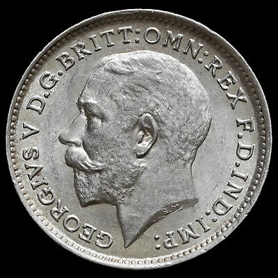 1912 George V Silver Threepence – UNC