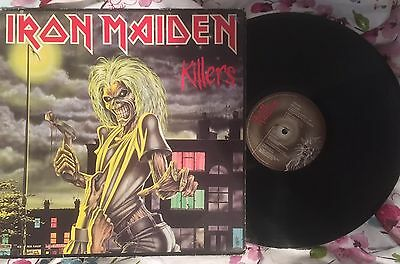 IRON MAIDEN - KILLERS LP  FA 41 3122 1 -- STEREO A4 / B2....best