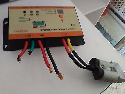 PWM solar charge controller c/w all fittings