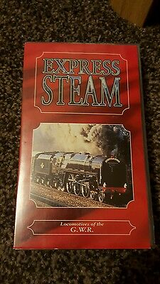 Express Steam Locomotives of the GWR  Railway Video VHS