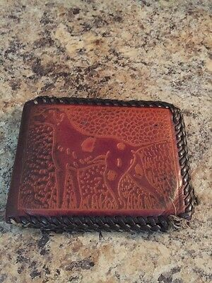 Vintage Man's Real All Leather Wallet