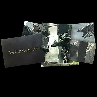 The last guardian litographies collector goodies neuf ps4