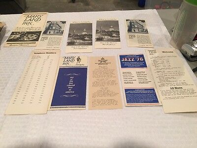 Charles Byrd Invites You Jazz '76 King Of France Tavern Annapolis Maryland Flyer
