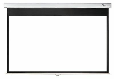 Optoma Ds-9092Pwc 92-Inch Manual Projection Screen With Self Locking Mechanism