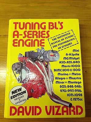 Tuning Bl's A-Series Engine hardback book by David Vizard