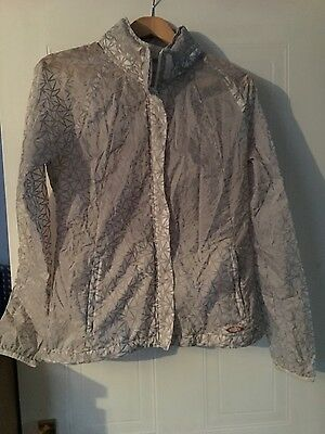 ladies running reflective jacket size 10