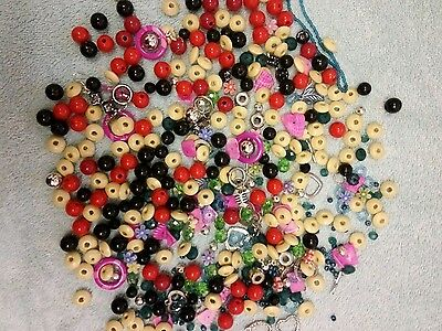 assorted crafting jewellery making beads