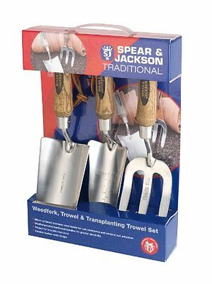 Spear & Jackson Traditional Stainless Steel Set 3 Pieces