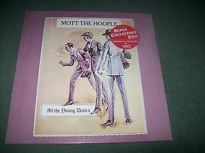 Mott The Hoople - All The Young Dudes LP Netherlands reissue on Embassy 31909