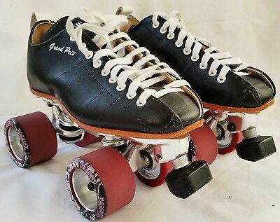 Riedell 195 Grand Prix Pro Roller Derby Skates SIZE 4 / LADIES 5 - AS NEW