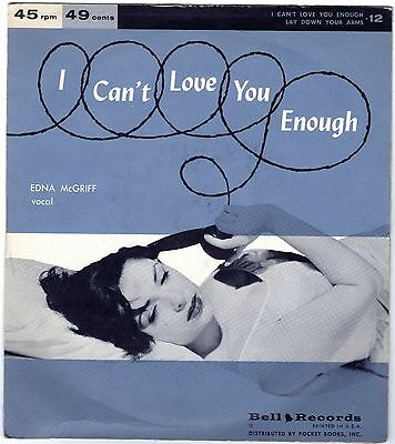 EDNA Mc GRIFF          I Can´t Love You Enough             BELL RECORDS
