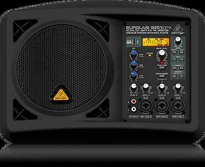"BEHRINGER EUROLIVE B207MP3 Portable Active 150W 6.5"" PA/Monitor Speaker System"