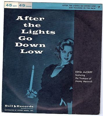EDNA Mc GRIFF     After the Lights go Down Low             BELL RECORDS