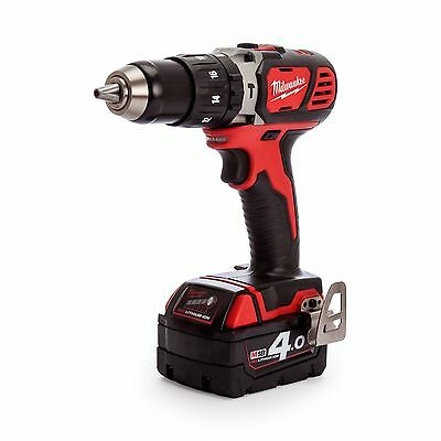 Milwaukee M18 BPD-402C Combi Drill 18V Charger and Case (1x 4.0Ah Batteries)