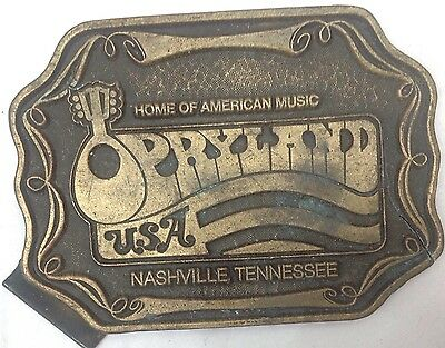 Plaque Opryland American Vintage Classic Retro Country Western