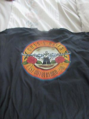 Guns And Roses Not In This Lifetime Venue Sold Concert T Shirt