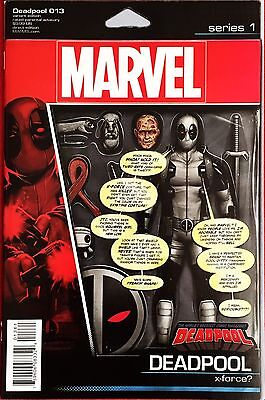 Deadpool #13 Jtc Action Figure Variant Nm First Print