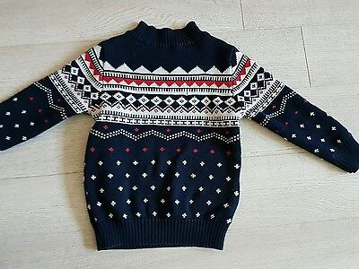 Boys Next Christmas Style thick jumper Aged 4 years