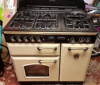 Rangemaster Classic 90 Farmhouse Dual Fuel Gas Electric Cooker Oven Delivery