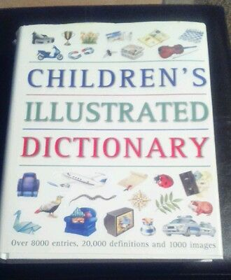 Children's Illustrated Dictionary by Parragon Plus (Paperback, 1999)