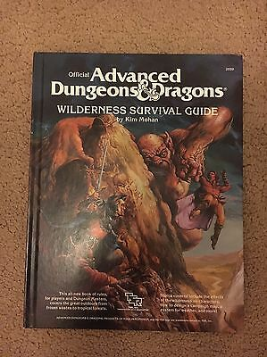 Advanced Dungeons & Dragons Wilderness Survival Guide. Very Good Condition.
